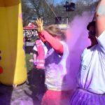 colour run purple cloud