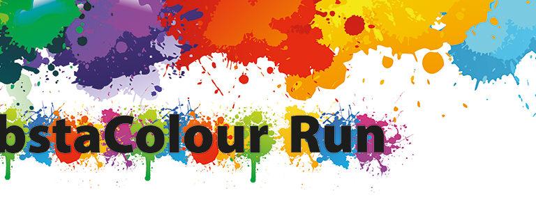 colour run banner